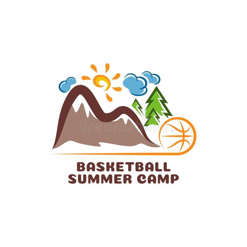 Basketball Camp Stock Illustrations.