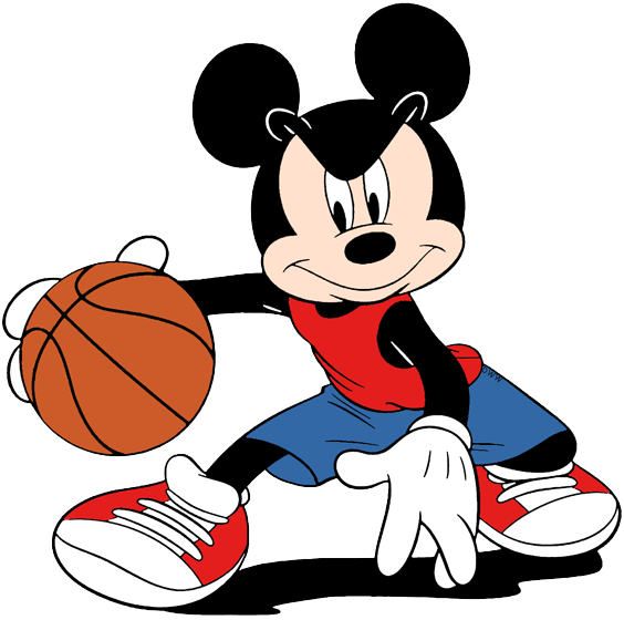 Disney Basketball Clip Art.