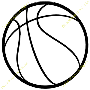 Basketball Clipart PNG Transparent.
