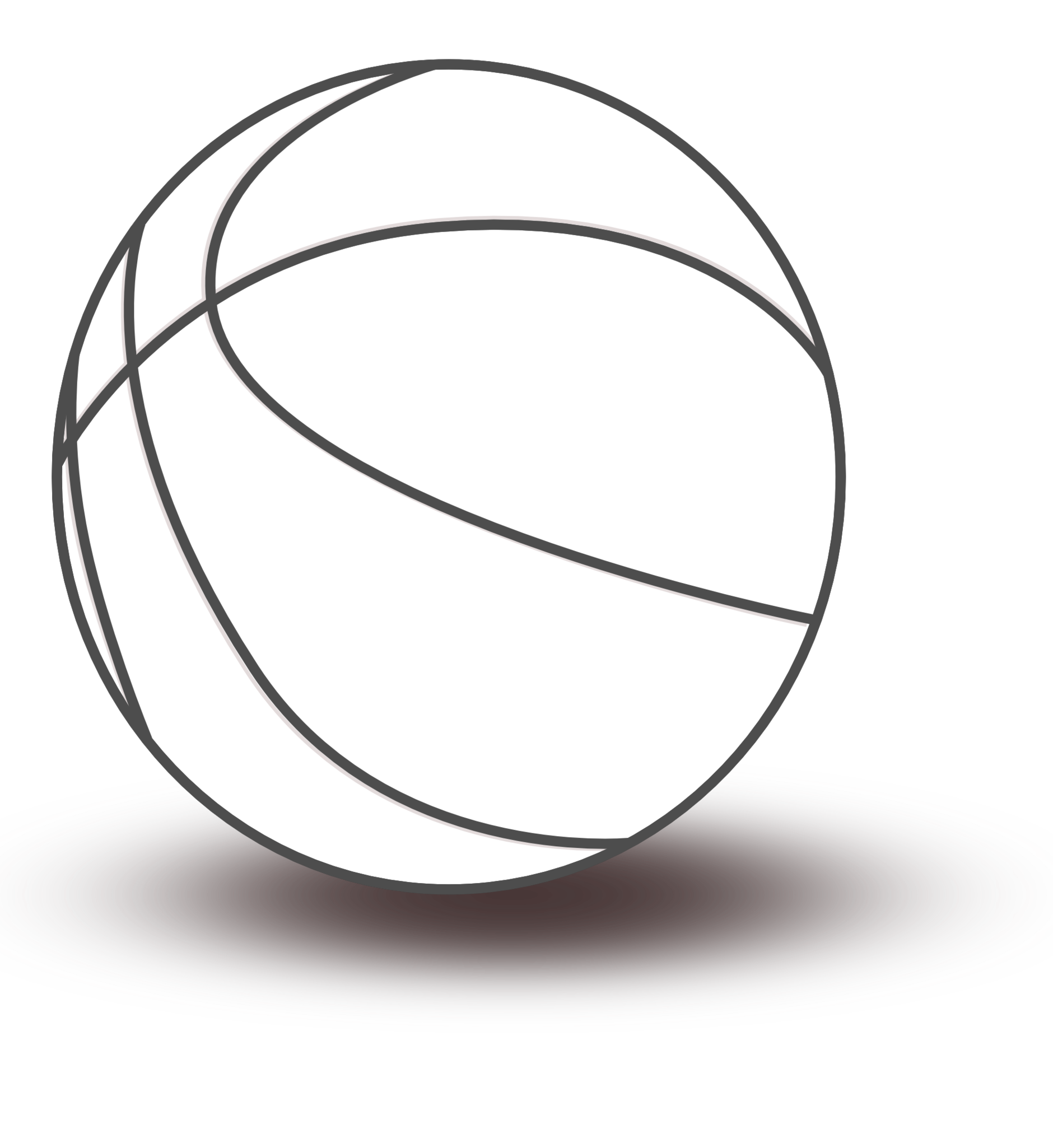 Black And White Images Basketball.