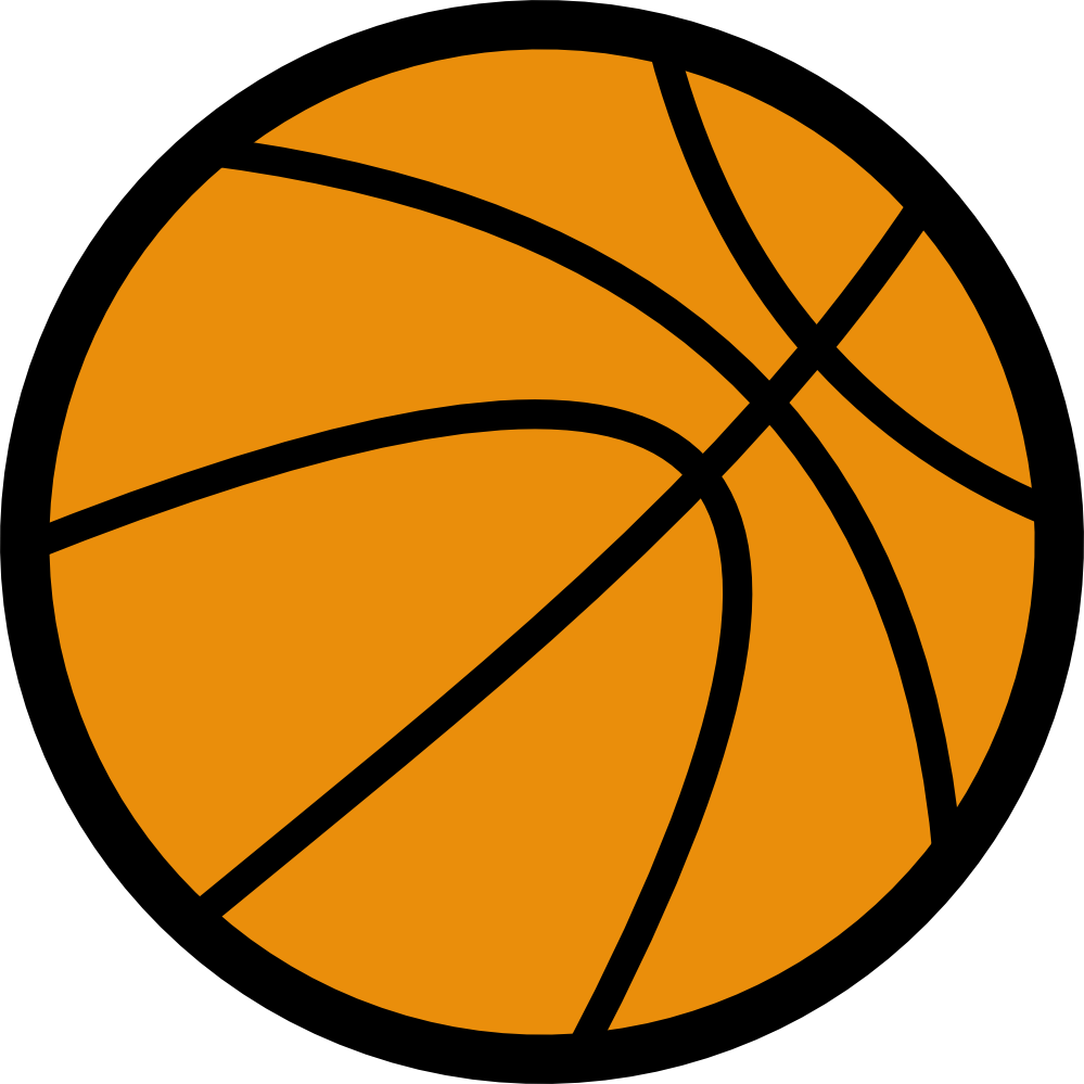 Girls Basketball Clipart Black And White.