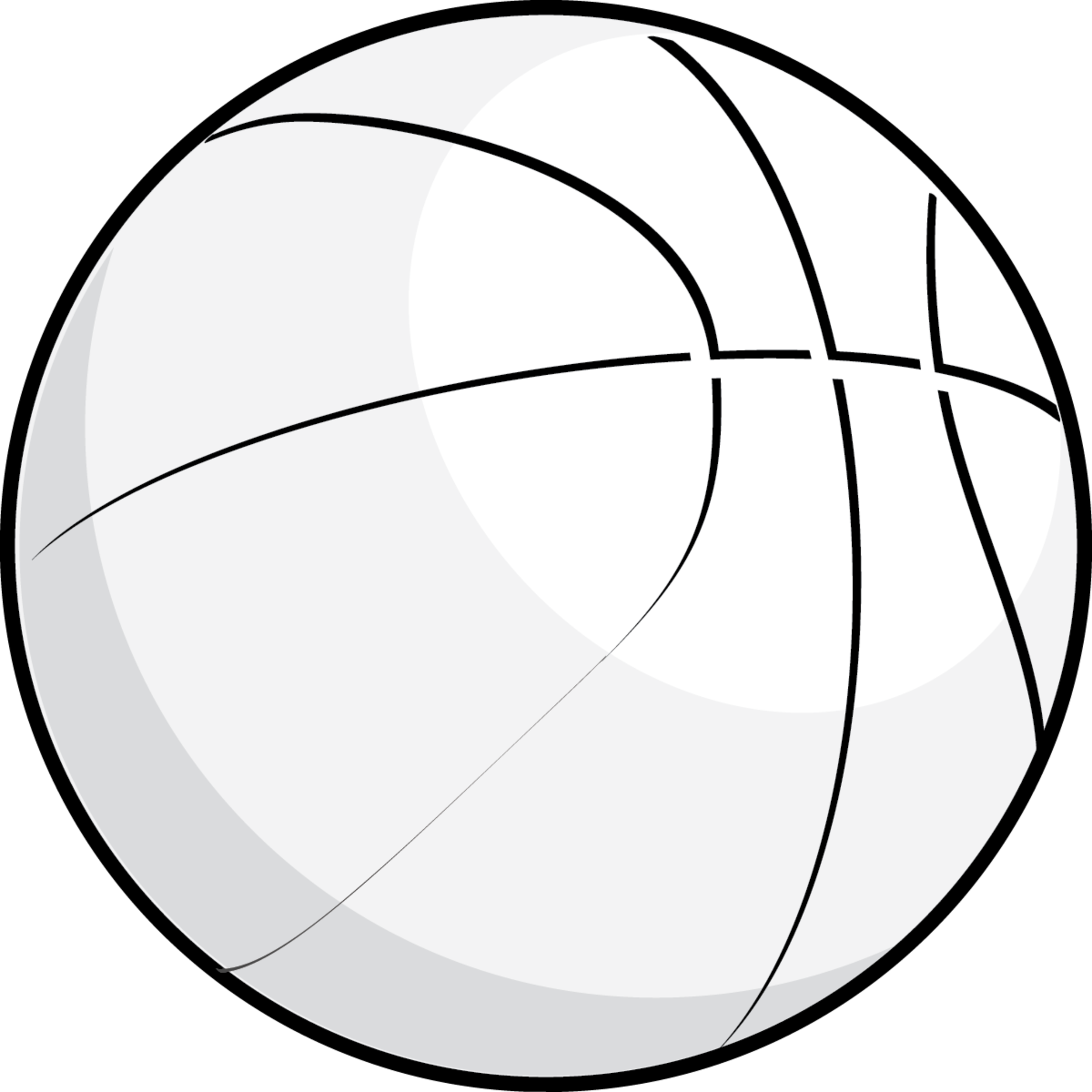 1322 Basketball Clipart Black And White Basketball Clipart Black.
