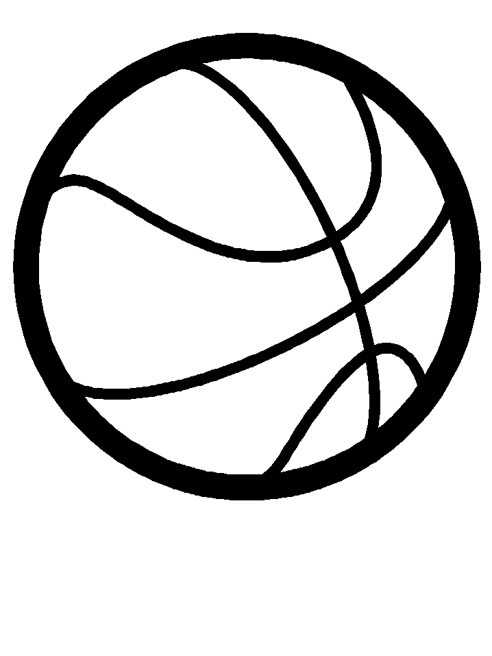 Basketball Logo Black And White Png Images & Pictures.