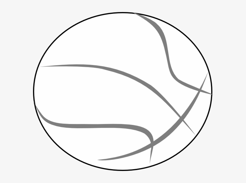How To Set Use Basketball Grey Outline Svg Vector.