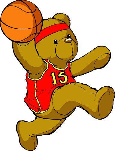 Animated Basketball Clipart Girl.