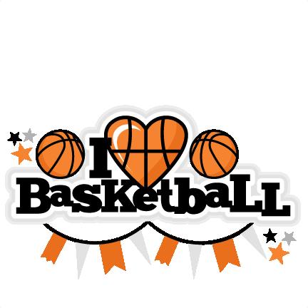 Basketball Cute Clipart.