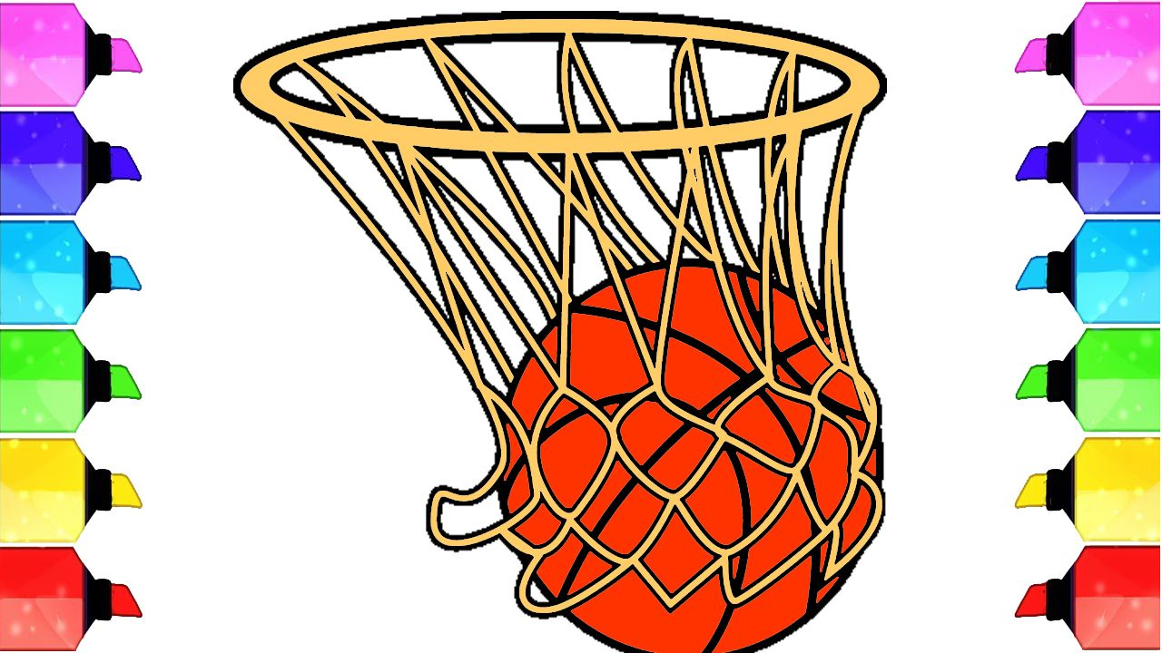 How to Draw a Realistic Basketball.