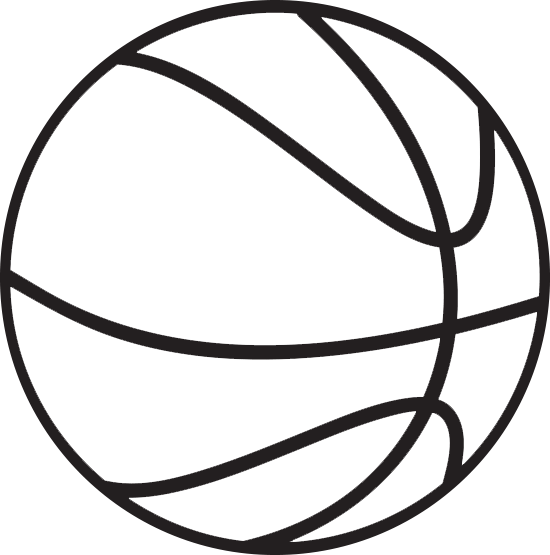 Free Basketball Clip Art Black And White, Download Free Clip.