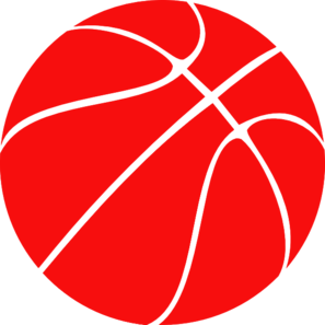 Red Basketball Clipart.