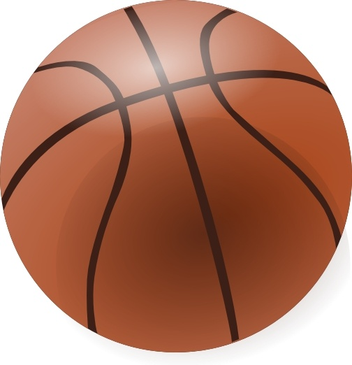 Basketball clip art Free vector in Open office drawing svg ( .svg.