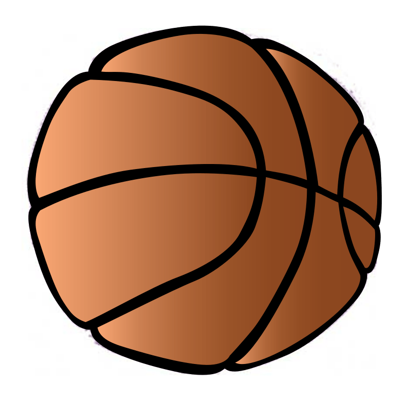 Background Basketball Cliparts.