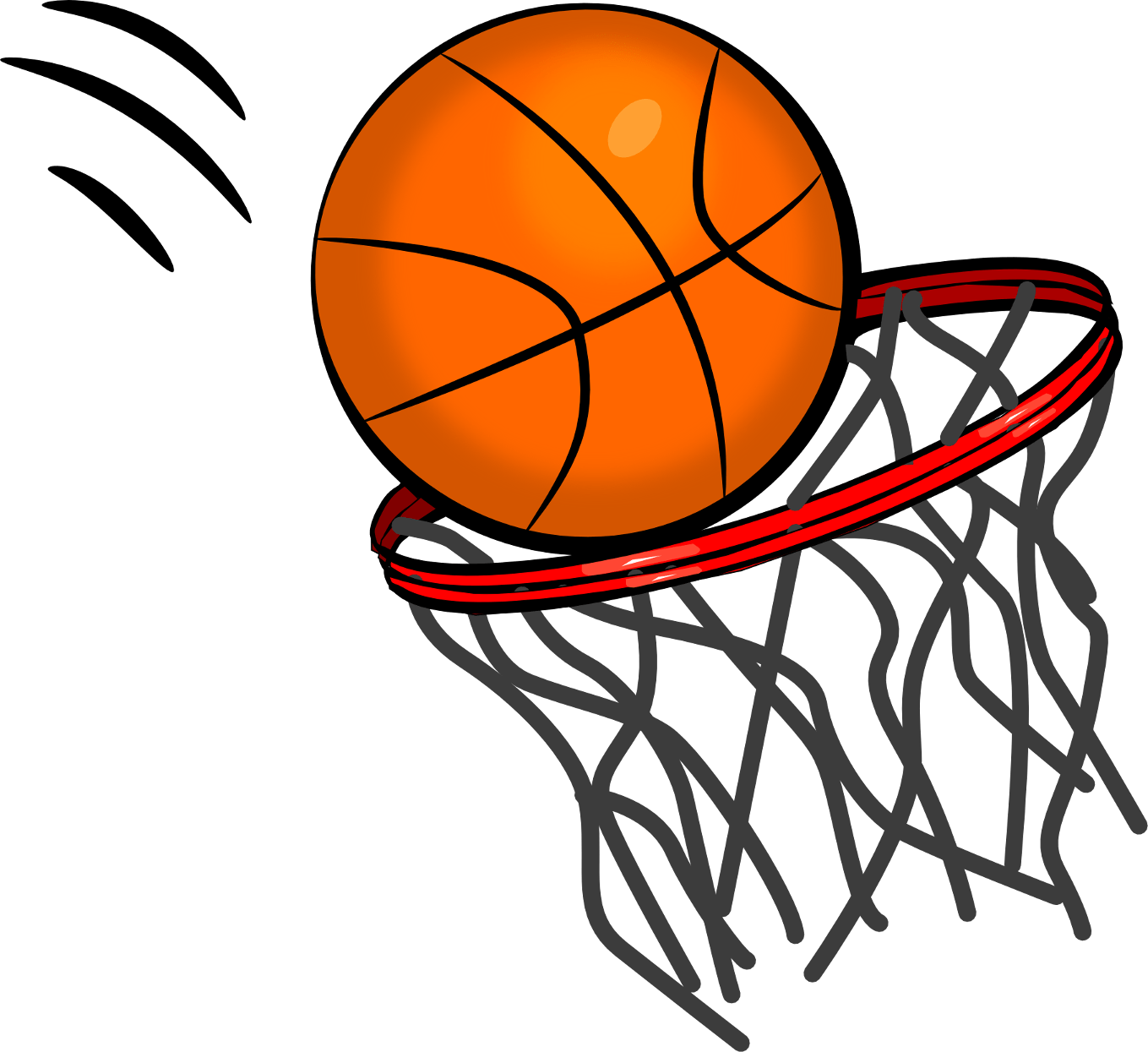 Basketball Ring transparent PNG.