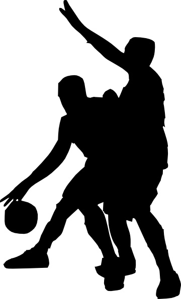 Basketball Players Clipart transparent PNG.