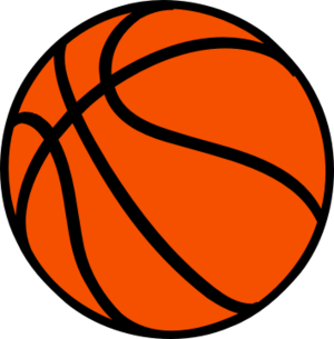 Basketball Clipart PNG Transparent.