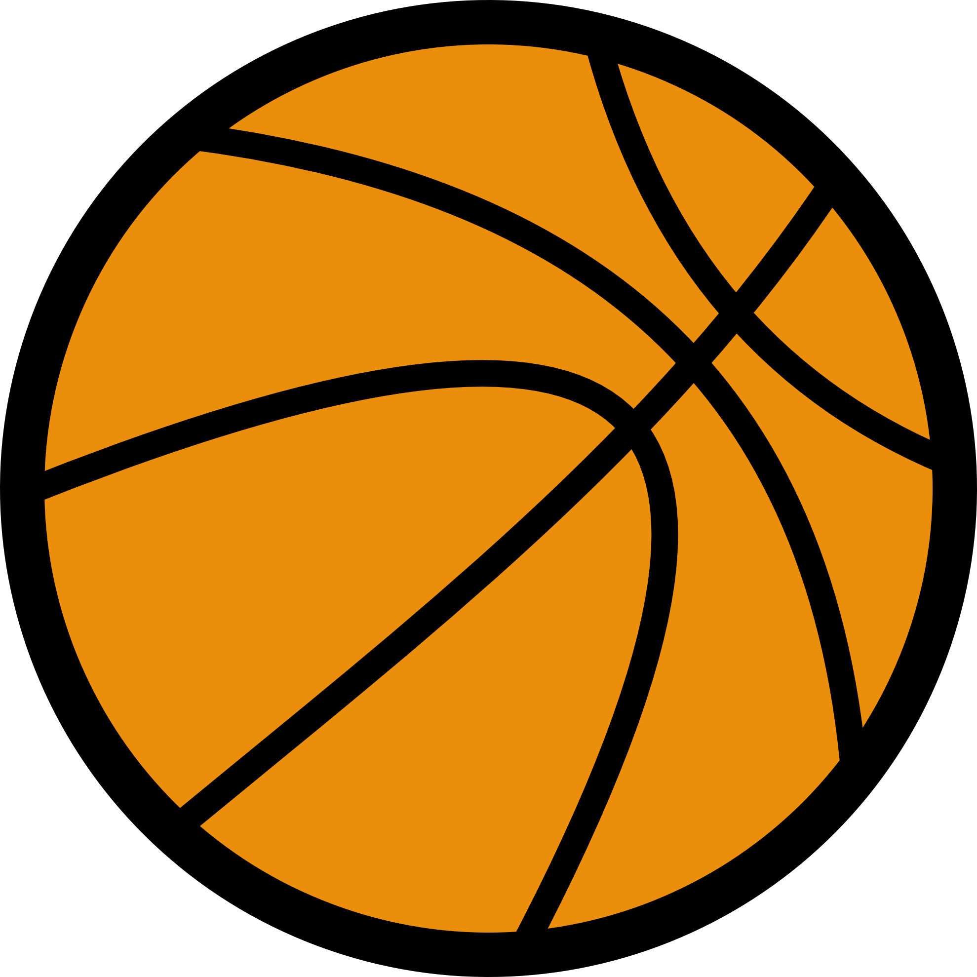 Basketball clipart transparent 3 » Clipart Portal.