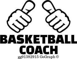 Basketball Coach Clip Art.