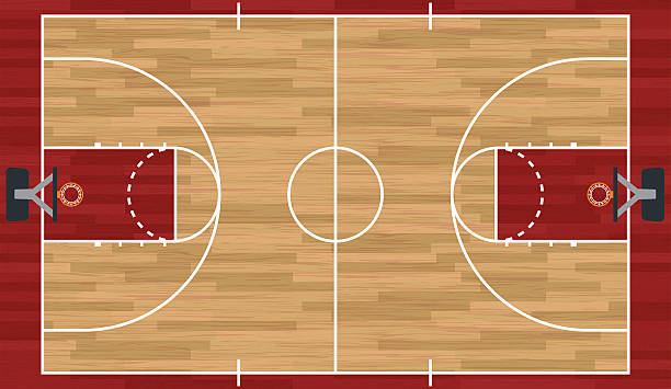 Basketball Court Clipart Images.
