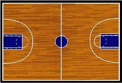 104+ Basketball Court Clip Art.