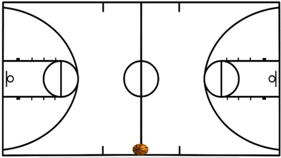 Cool Basketball Clip Art Black And White