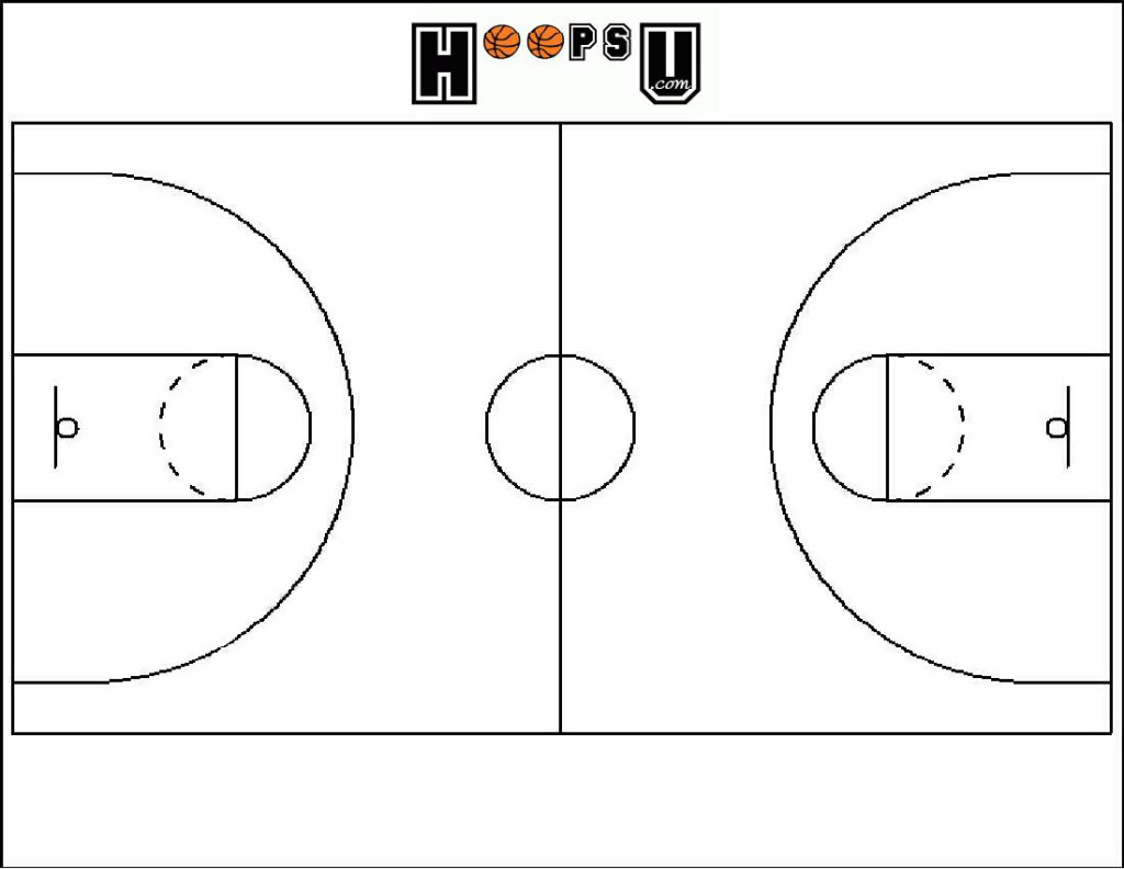 Basketball Court Clipart Black White 7255 Best Wallpapers.