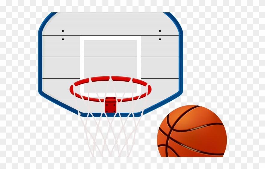 Wallpaper Clipart Basketball Court.