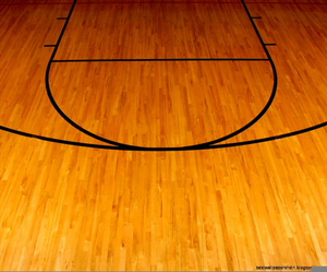 Free Clipart Basketball Court.
