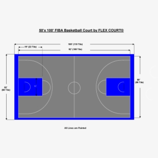 Basketball Court Lines Png.