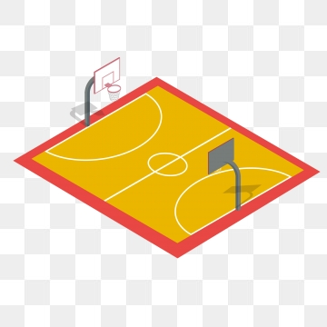 Basketball Court PNG Images.