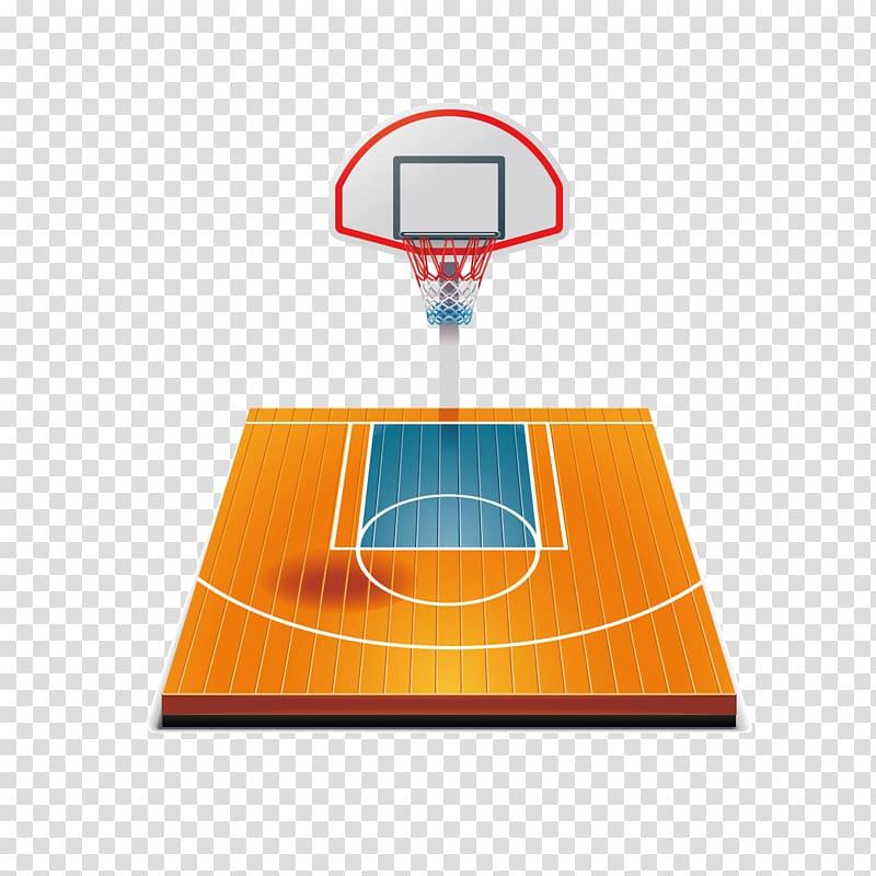 Basketball court, Basketball court Graphics transparent background.