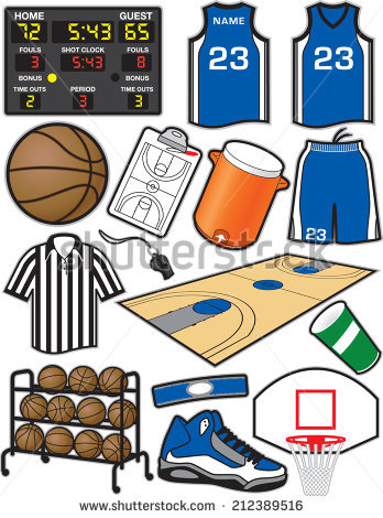Basketball Scoreboard Stock Images, Royalty.