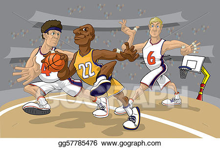 Basketball Game Cliparts.