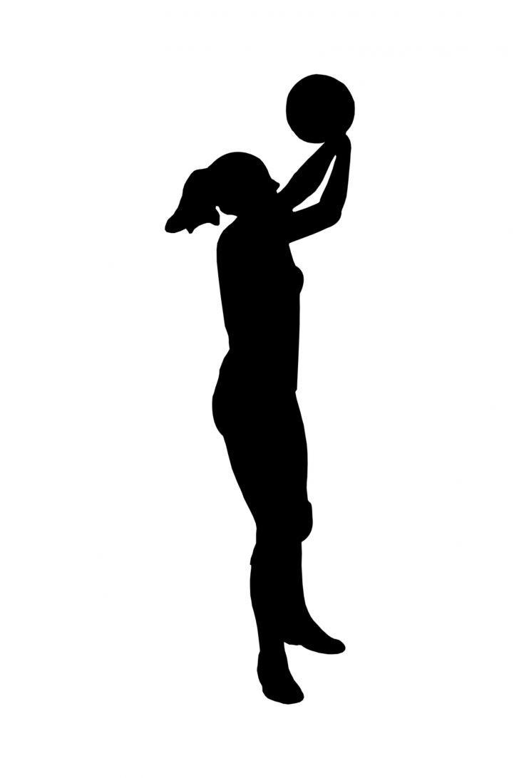 Basketball Silhouette.