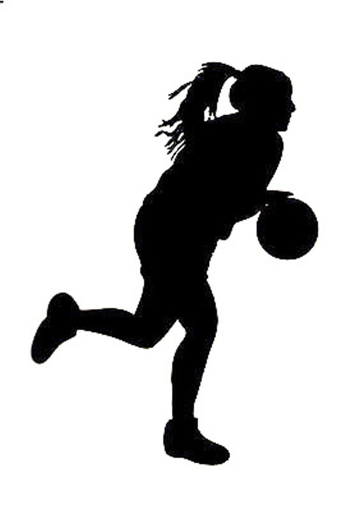 Young Basketball Girl Dribbling by SportsArtZoo. If you want to.