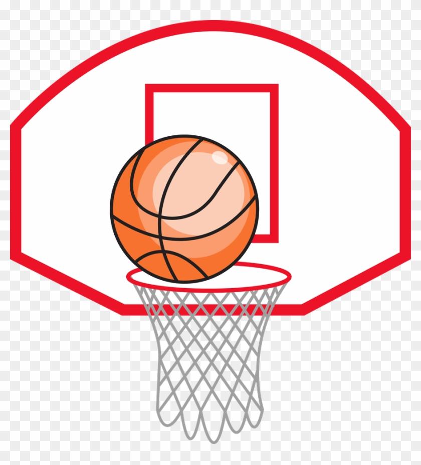 Basketball Goal Clipart At Getdrawings.