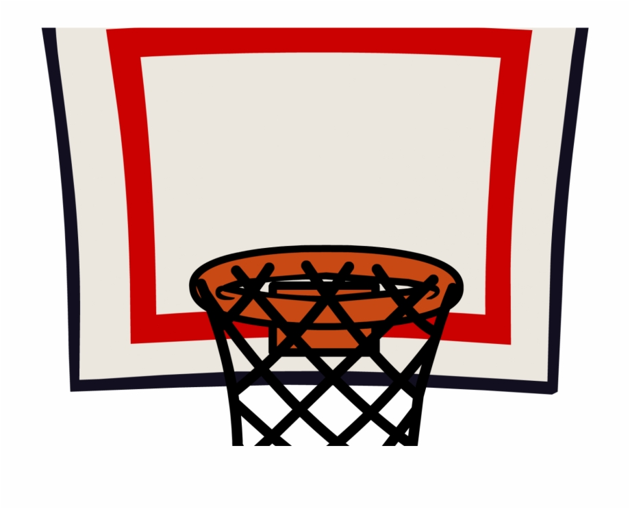 Basketball Goal Clipart.