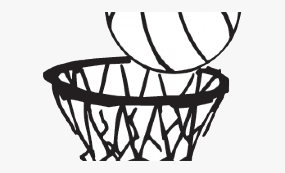 Ball Clipart Basketball Hoop.