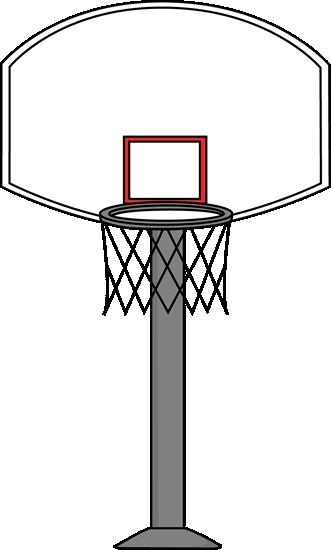 Clipart Of Basketball Hoop.