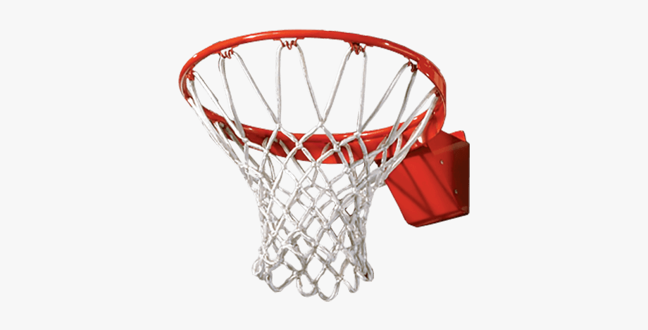Basketball Net With No Basketball Clipart.
