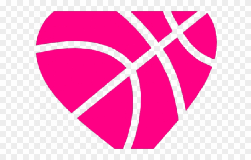 Heart Pictures Clipart Basketball.
