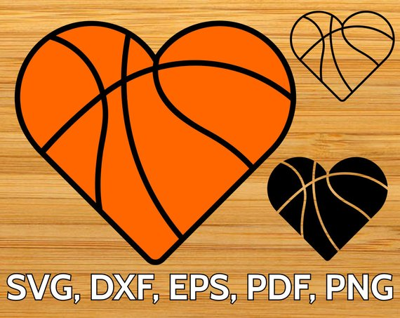 Heart shaped basketball clipart 3 » Clipart Station.