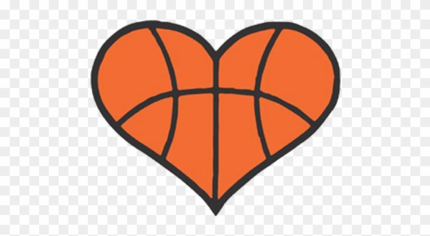 Basketball Heart Cartoons Clipart (#434864).