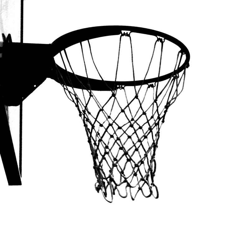 Basketball Hoop Black And White Png & Free Basketball Hoop Black And.