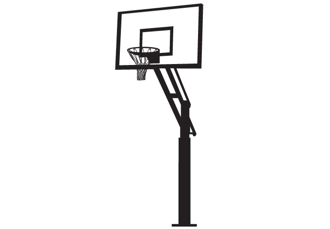 Free Picture Of A Basketball Hoop, Download Free Clip Art.