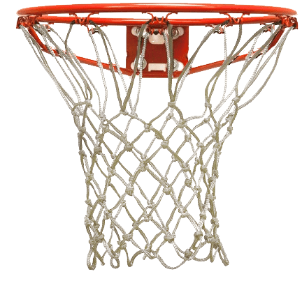 Basketball Hoop Front View transparent PNG.