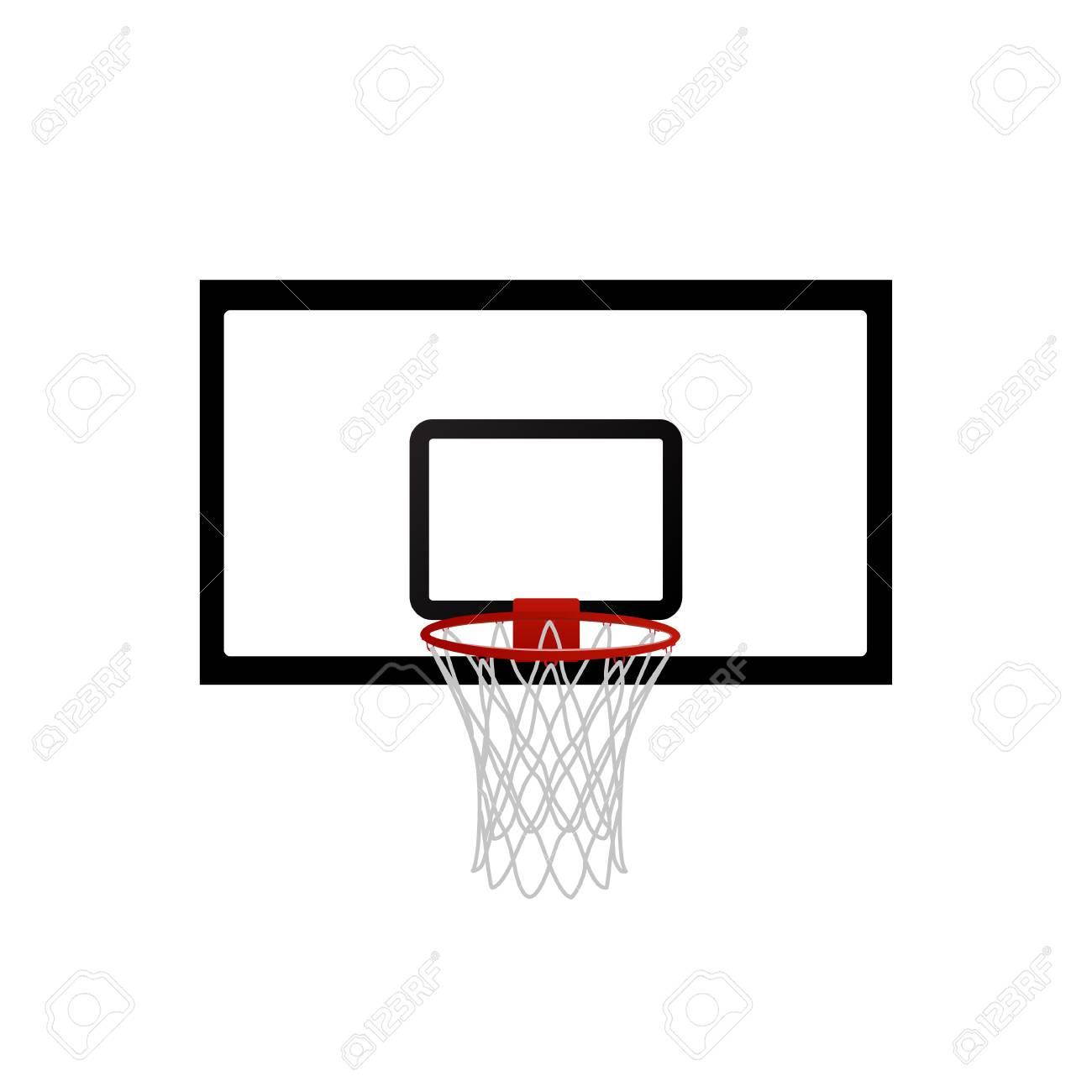 Vector illustration basketball basket, basketball hoop, basketball...