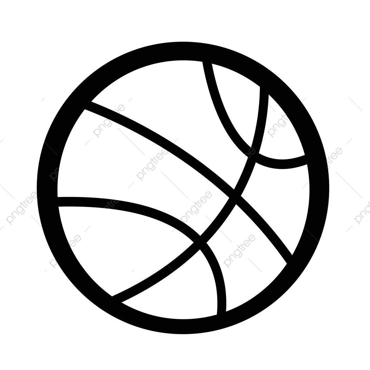 Basketball Icon, Icon, Ball, Symbol PNG and Vector with Transparent.