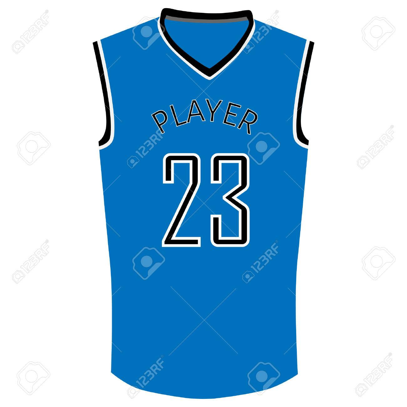 Blue basketball t.