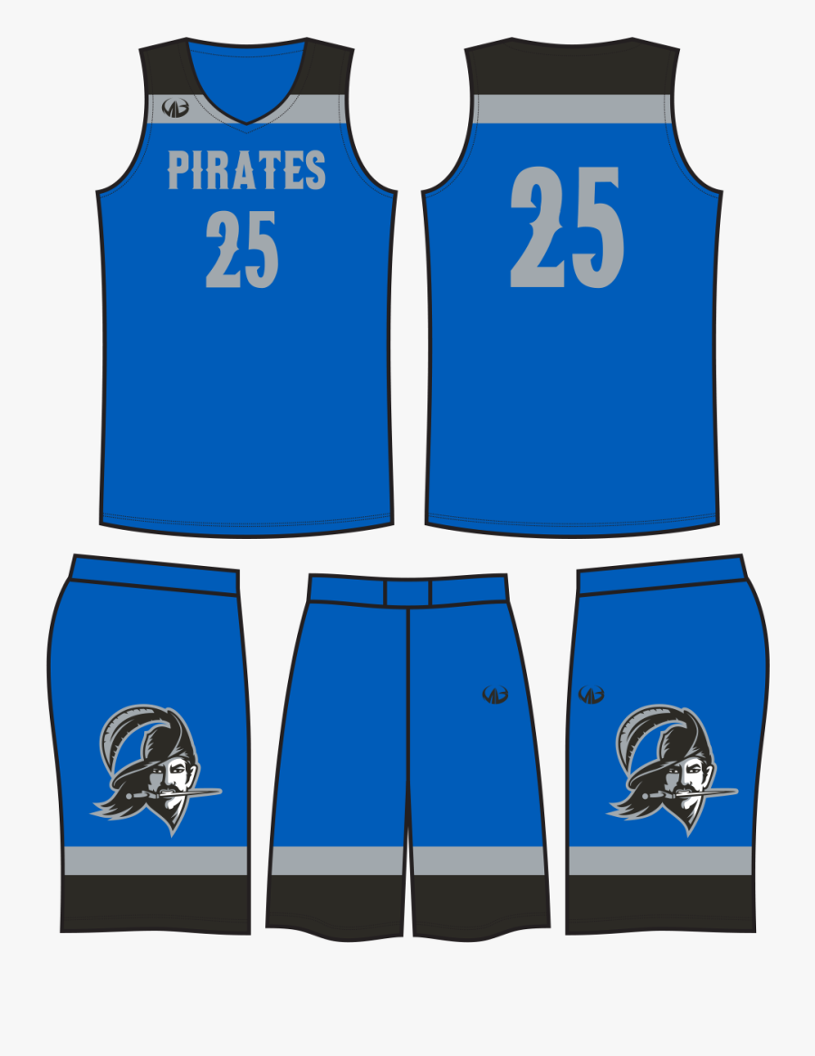Blue Basketball Jersey Design , Free Transparent Clipart.