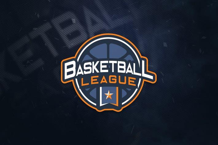 Basketball League Sports Logo by ovozdigital on Envato Elements.