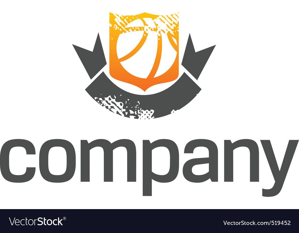 Basketball league logo.